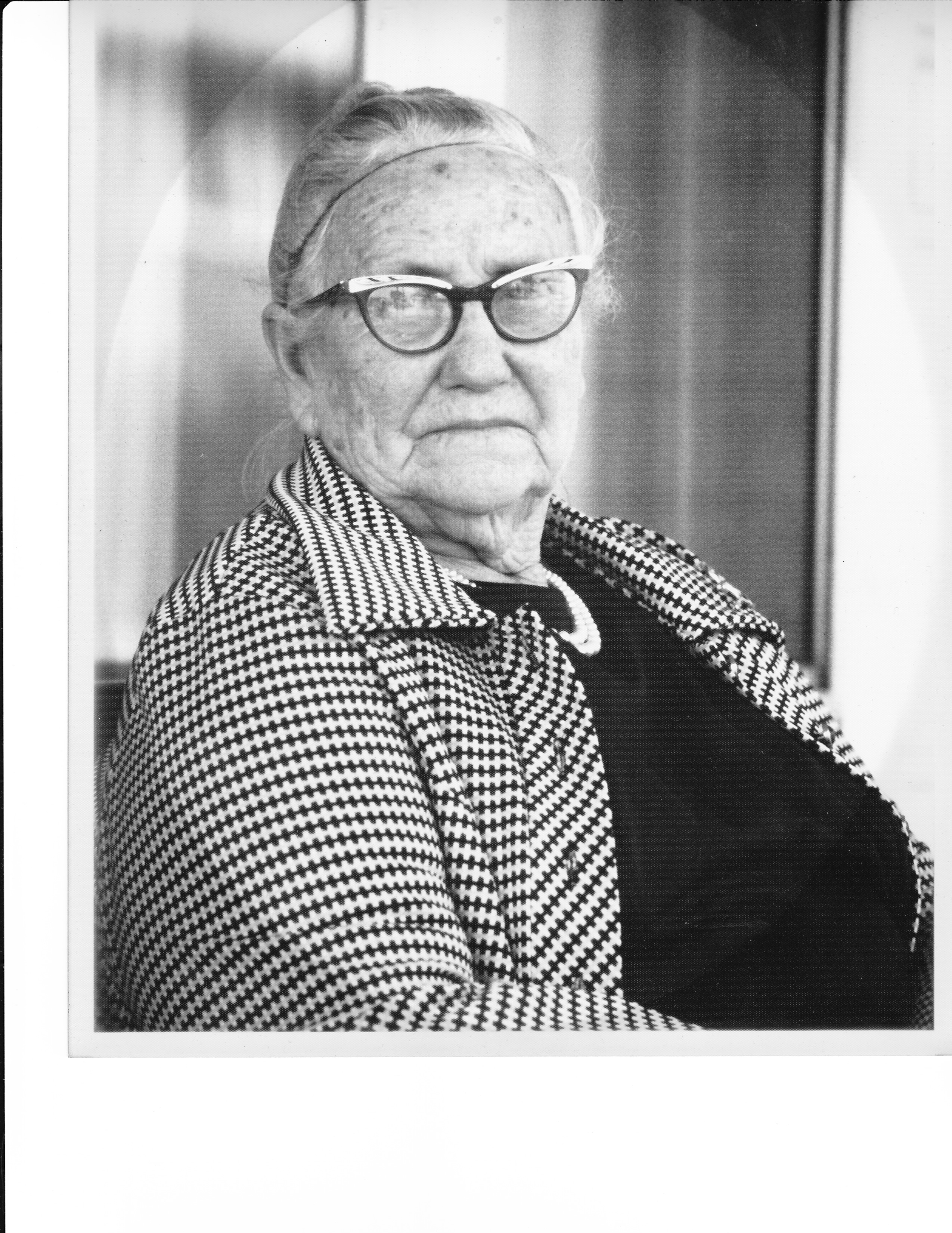 Mamaw Ora Mae Morris. I loved that woman. She smelled like biscuits.
