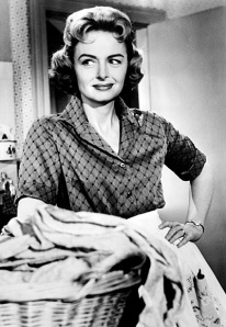 Donna Reed on Laundry day.  Now her modern day peers can get tested.
